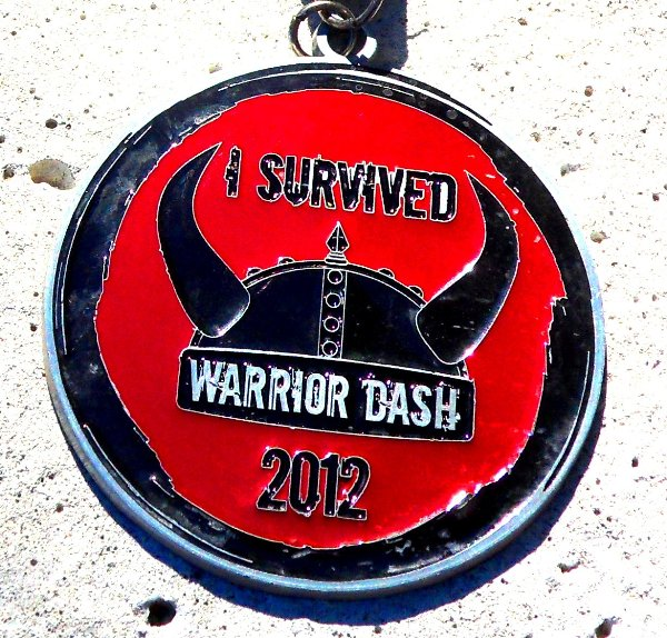 Warrior Dash Medal