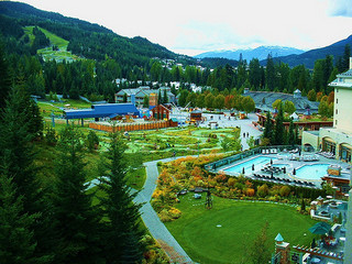Chateau Whistler Grounds