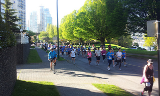 Vancouver Marathon West End