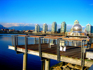 Vancouver Seawall Science World Loop