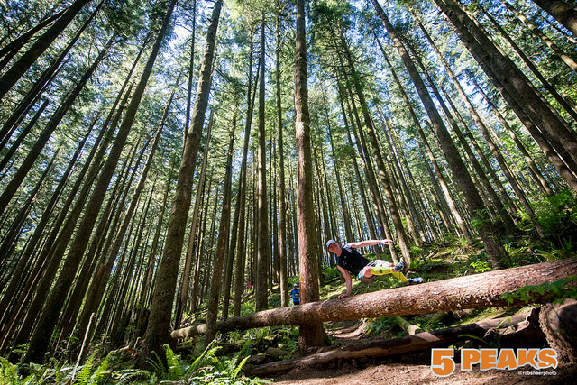 5 Peaks Golden Ears Trail Race 2 - Photograph by Robert Shaer