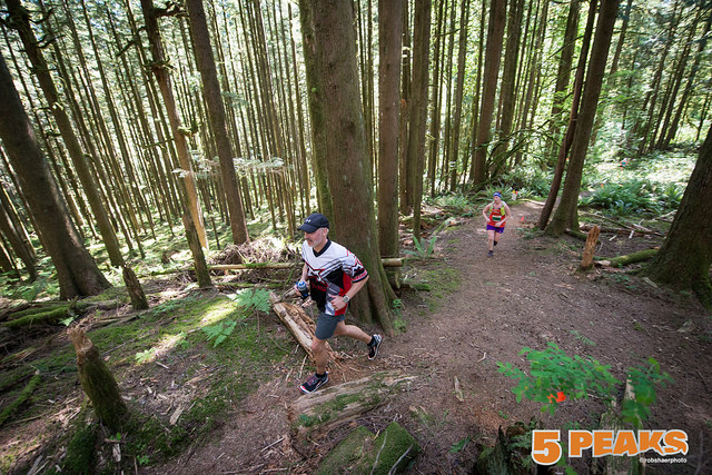 5 Peaks Golden Ears Trail Race - Photograph by Robert Shaer