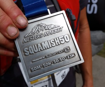 Squamish 23 Finisher Medal